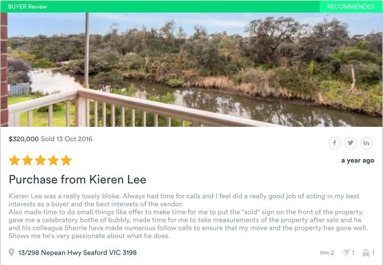 Kieren Lee - Licensed Real Estate Agent