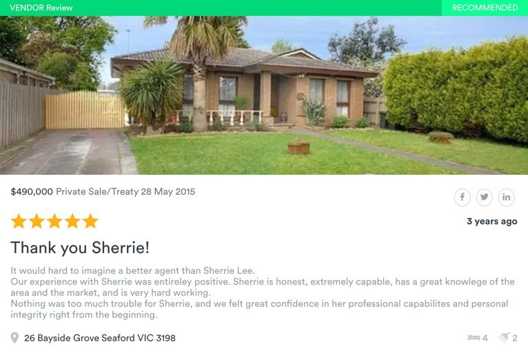 SOLD by Sherrie Lee